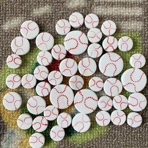 Fun Foam Baseball Craft Supplies (50pc)